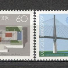 Germania.1987 EUROPA-Arhitectura moderna SG.571 - Timbre straine, Nestampilat