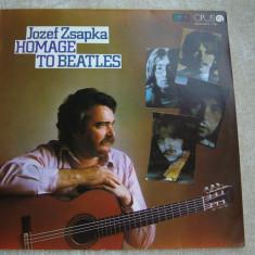 JOZEF ZSAPKA - Homage To Beatles - Vinil LP Cehoslovacia - Muzica Ambientala