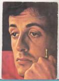 bnk cp Sylvester Stallone - carte postala necirculata