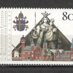 Germania.1987 Vizita Papei Ioan Paul II SG.570 - Timbre straine, Nestampilat