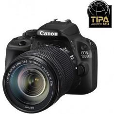 Canon EOS 100D kit (18-135mm IS STM) - DSLR Canon, Kit (cu obiectiv), Peste 16 Mpx, Full HD