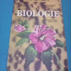 BIOLOGIE CLASA IX MARIN ANDREI EDITURA DIDACTICA 1998 - Manual scolar Altele, Clasa 9