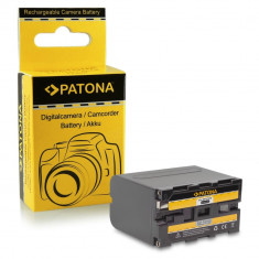 Acumulator compatibil SONY NP-F970, NP-F960, DCR-VX2100, HDR-FX1, marca Patona,, Dedicat