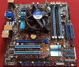 Kit placa de baza Asus P8H67-M PRO sau P8H77-V + Core i3-2100 3,1 Ghz, Pentru INTEL, 1155, DDR 3