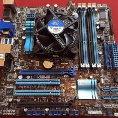 Kit placa de baza Asus P8H67-M PRO + Core i3-2100 3, 1 Ghz, Socket: 1155, DDR 3, Contine procesor