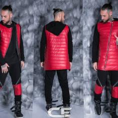 Trening GalatiFashion barbati din bumbac pantalon + Geaca model primavara 2017 - Trening barbati, Marime: XS, M, L, Culoare: Din imagine