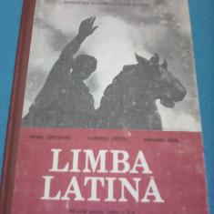 LIMBA LATINA MANUAL CLASA X MARIA CAPOIANU 1991 STARE FOARTE BUNA - Manual scolar Altele, Clasa 10, Alte materii