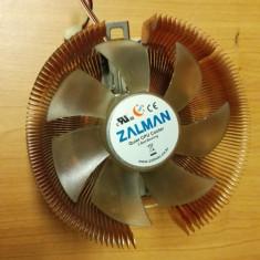 Cooler Ventilator Zalman socket AM2 - Cooler PC Zalman, Pentru procesoare