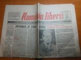 ziarul romania libera 10 mai 1991-art. despre regele mihai si independenta