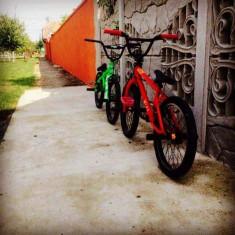 Vând Bmx btwin 320 roşu - Bicicleta BMX Nespecificat, 21 inch, Numar viteze: 1