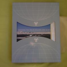 """Album Filatelic """"Protejati Regiunile Polare si Ghetarii"""" - 25 Tari PPRG"""