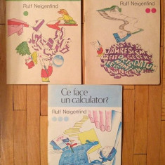 Cum functioneaza un calculator?, Ruf Neigenfind, 3 volume, 1991,