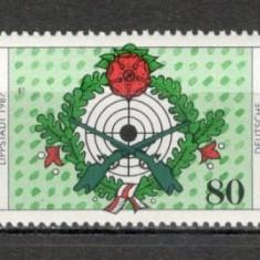 Germania.1987 Concurs ptr. tragatori SG.578 - Timbre straine, Nestampilat