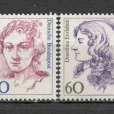 Germania.1987 Personalitati feminine SG.579 - Timbre straine, Nestampilat