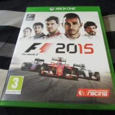 Joc F1 2015, formula 1, XBOX One, original, alte sute de jocuri! - Jocuri Xbox One, Sporturi, 3+, Single player