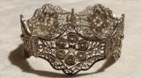Bratara argint filgran VIENEZA 1900 delicata SPLENDIDA eleganta de EFECT vintage