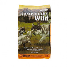 Taste Of The Wild High Prairie Puppy 13 kg + 2 conserve Equilibria Dog Cal 410 gr - Hrana caini