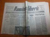 Ziarul romania libera 9 mai 1991-art. taranii si reforma