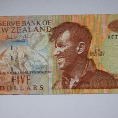Noua Zeelanda 5 dollari