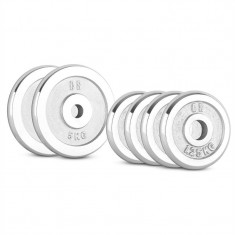 CAPITAL SPORTS CP 15 kg, set de discuri pentru gantere 4 x 1, 25 kg + 2 x 5 kg, 30 mm