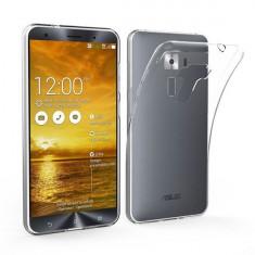 Husa Asus Zenfone 3 ZE520KL TPU Transparenta - Husa Telefon Asus, Universala, Gel TPU, Fara snur, Carcasa
