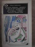 Divanul Persian, Soarele In Balta Sau Aventurile Sahului, Pov - Mihail Sadoveanu ,386767, 1970