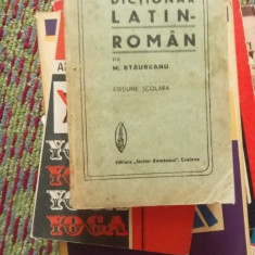 DICTIONAR LATIN-RAMAN Altele