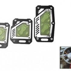Set pedale auto fosforescente