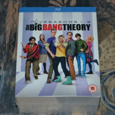 Film - The Big Bang Theory - Season 1-9 [18 Discuri Blu-Ray], Import UK - Nou - Film serial warner bros. pictures, Comedie, Engleza
