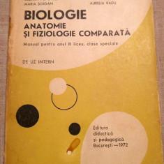 BIOLOGIE-Anatomie si Fiziologie Comparata -colectiv universitar - Curs Medicina