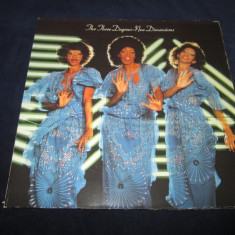 The Three Degrees ‎– New Dimensions _ vinyl, LP, album, Olanda - Muzica Dance ariola, VINIL