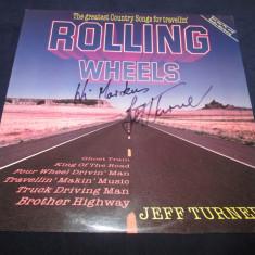 Various - Rolling Wheels _ vinyl(LP) Elvetia {cu autograf} - Muzica Country Altele, VINIL