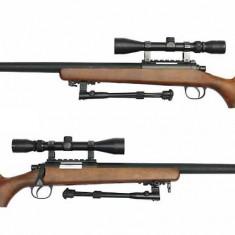 Pusca REMINGTON M-700 aer comprimat, PUTERNICA, FULL METAL, pistol+Bonus MUNITIE! - Arma Airsoft