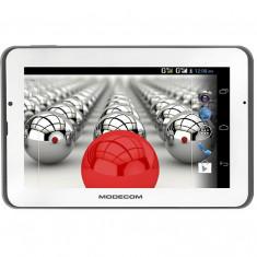 Modecom Tableta MODECOM FreeTAB 7003 HD+ X2 3G+ 7 inch Qualcomm 8225 S4 Snapdragon Dual Core 512MB RAM 4GB flash WiFi White / Black, Wi-Fi + 3G, Android