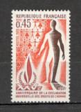Franta.1973 25 ani Declaratia drepturilor omului  SF.541.16, Nestampilat