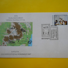 HOPCT PLIC 1175  CERCUL FILATELIC PTTR POSTA ROMANA/ZIUA MARCII 1981 BUCRESTI