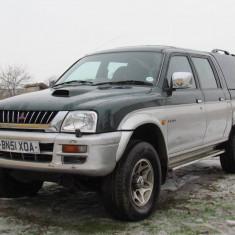 Mitsubishi L200 4x4, 2.5 Turbo Diesel, an 2001, Motorina/Diesel, 100000 km, 2477 cmc