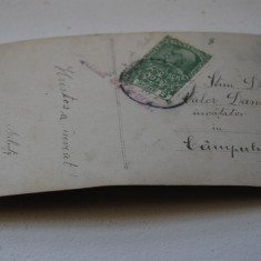 Bukowina circulatie Campulung Mold., cenzura - Carte Postala Bucovina 1904-1918, Circulata, Printata