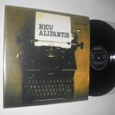 NICU ALIFANTIS : S/T (cu masina de scris) (1984) al 2 lea LP Alifantis, stare NM - Muzica Folk electrecord, VINIL