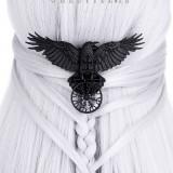 Clamă cu corb Cârma terorii - Pandantiv fashion