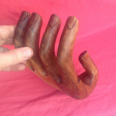 Sculptura - Palma din lemn !!!, Abstract