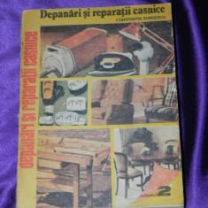 Depanari si reparatii casnice Indrumar practic vol 2 Constantin Burdescu (f0052