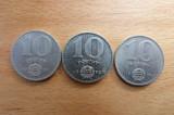 Ungaria Lot 10 Forint Ni