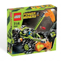 LEGO - Power Miners Claw Digger #8959, 10-14 ani