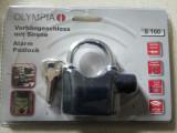 Lacate rezistente-OLYMPIA,cu alarma,sigilate