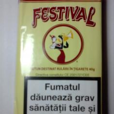 Tutun FESTIVAL 40 g - Tutun Pentru tigari de foi