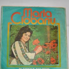 Disc  vinil - Maria  Ciobanu - Plaiurile  Gorjului