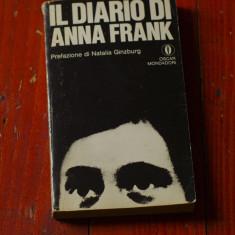 Carte L. Italiana - Il diario di Anna Frank / anul 1979 / 256pag ! - Carte in italiana