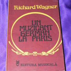 Richard Wagner - Un muzicant german la Paris (f0027 - Carte Arta muzicala