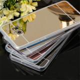 Bumper / Husa silicon / Gel TPU cu spate oglinda Samsung Galaxy Note 7
